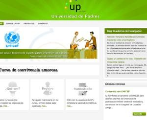 Web Universidad de Padres - Educa2.info