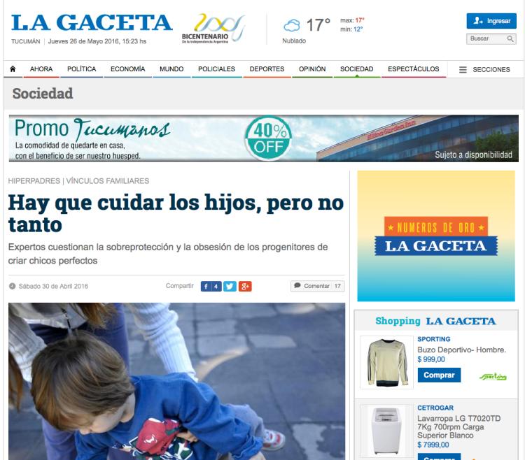 GACETA TUCUMAN. ARGENTINA
