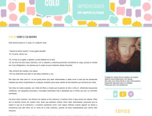 blogera argentina
