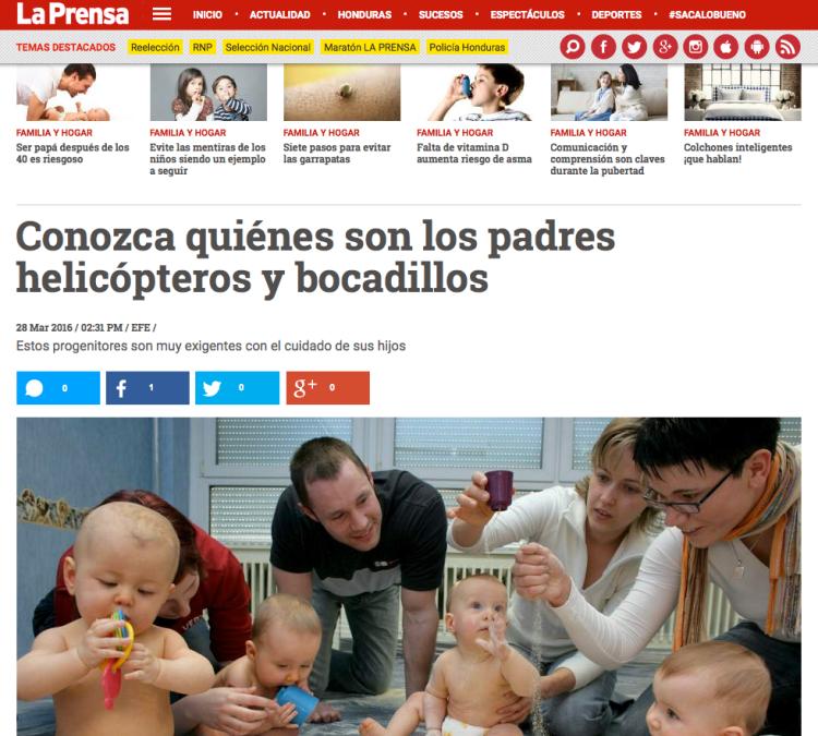 la prensa Honduras