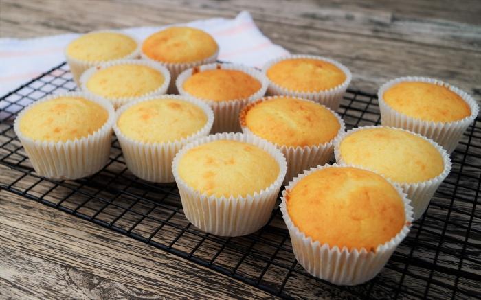 Baking Cupcakes in Progress